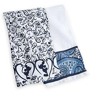 Mickey Mouse Icon Indigo Kitchen Towel Set