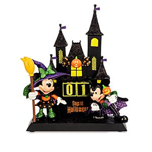 Minnie and Mickey Mouse Sculpted Halloween Countdown Calendar
