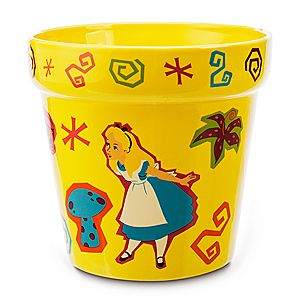 Alice in Wonderland Garden Flower Pot - Medium