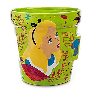 Alice in Wonderland Flower Pot - Large