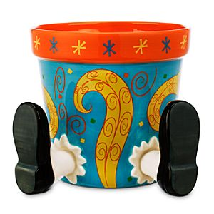 Alice in Wonderland Flower Pot - Medium
