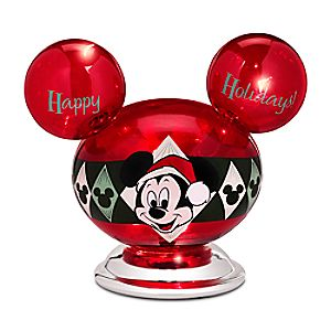 Mickey Mouse Holiday Light-Up Ornament
