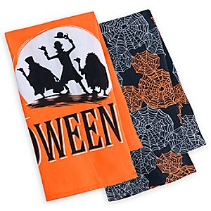 Haunted Mansion Halloween Kitchen Towel Set