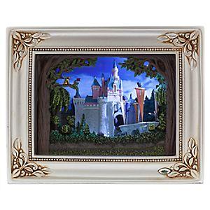 Sleeping Beauty Castle Gallery of Light by Olszewski - Disneyland Diamond Celebration