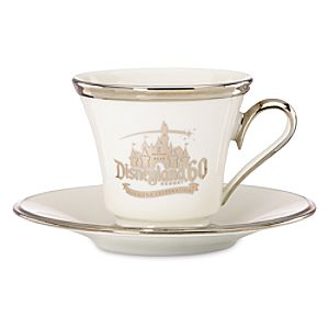 Disneyland Diamond Celebration Teacup and Saucer Set by Lenox