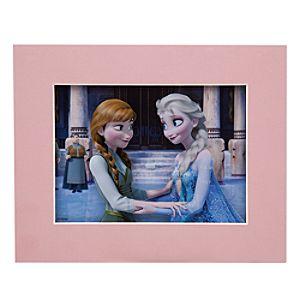 Anna and Elsa Laser Cel