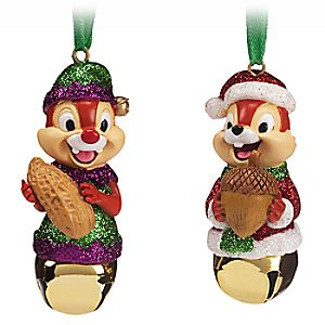 Chip n Dale Bell Ornament Set