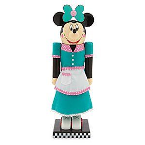 Minnie Mouse Flos V-8 Café Waitress Nutcracker Figure - 13