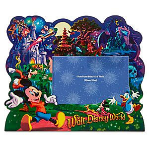 Mickey Mouse and Friends Storybook Photo Frame - Walt Disney World - 4 x 6
