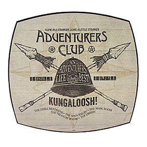 Twenty Eight & Main Adventurers Club Wood Sign