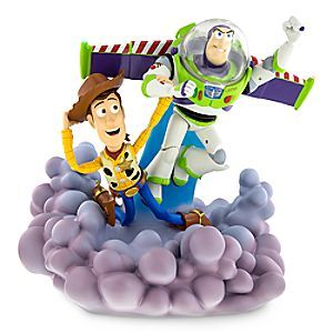 Buzz Lightyear and Woody Light-Up Figure
