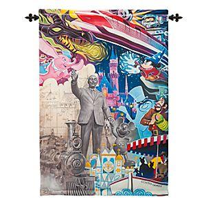 Disneyland Diamond Celebration Tapestry Wall Hanging - Disneyland is Your Land