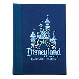 Disneyland Diamond Celebration Journal