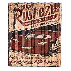 Rust-eze Metal Sign - Cars
