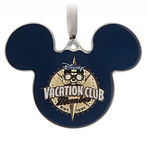 Mickey Mouse Icon Ceramic Ornament - Disney Vacation Club