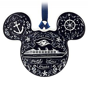 Mickey Mouse Icon Ornament - Disney Cruise Line