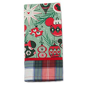 Mickey and Minnie Mouse Holiday Napkin