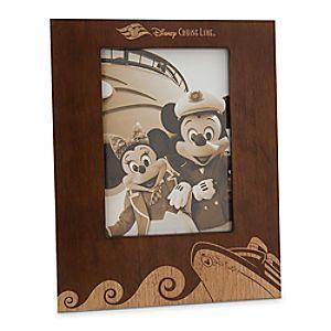 Disney Cruise Line Wood Photo Frame - 5 x 7