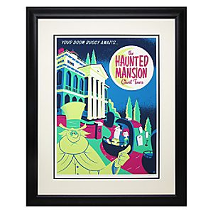 Your Doom Buggy Awaits Framed Limited Edition Deluxe Print by David Perillo