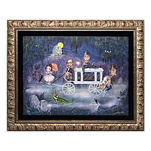 The Portraits Processional Framed Limited Edition Giclée on Canvas by John Coulter