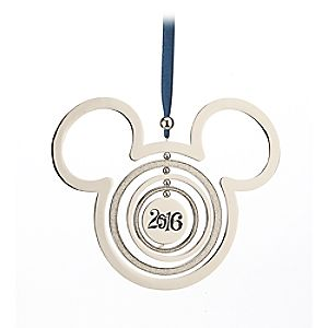 Mickey Mouse Icon Metal Mobile Ornament - Disney Parks 2016