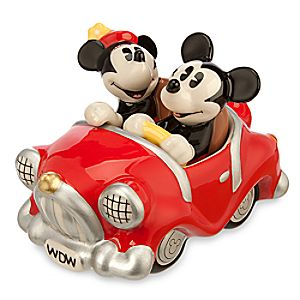 Mickey and Minnie Mouse Retro Salt and Pepper Shaker Set
