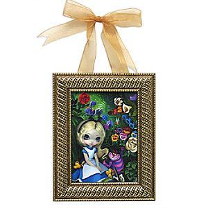 Alice in the Garden Framed Giclée on Canvas by Jasmine Becket-Griffith - Small