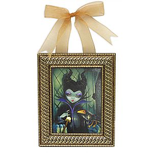 Maleficent Enthroned Framed Giclée on Canvas by Jasmine Becket-Griffith - Small