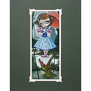 Tightrope Girl Deluxe Print by Jasmine Becket-Griffith