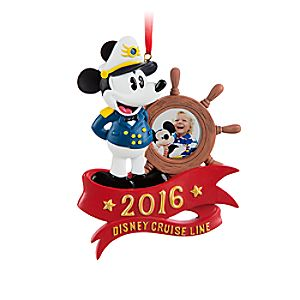 Disney Cruise Line 2016 Photo Frame Ornament