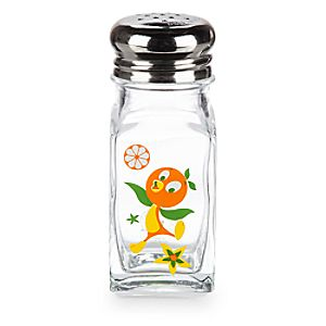 Orange Bird Salt or Pepper Shaker - Full Figure
