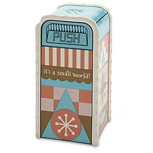 its a small world Trash Can Salt or Pepper Shaker