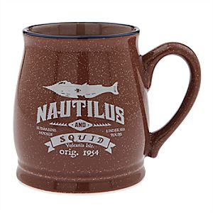 Twenty Eight & Main Nautilus Mug - 20,000 Leagues Under the Sea