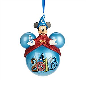 Sorcerer Mickey Mouse Icon Ornament - Walt Disney World 2016