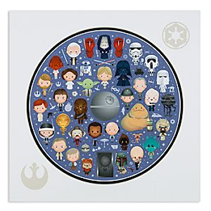 Star Wars Galaxy of Cute Deluxe Print by Jerrod Maruyama - 14 x 14