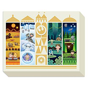 Star Wars Its a Small Galaxy After All Giclée on Canvas by Jerrod Maruyama - Large