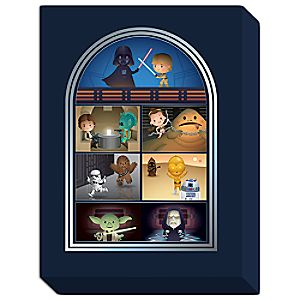 Star Wars May the Force Be With You Giclée on Canvas by Jerrod Maruyama - Large