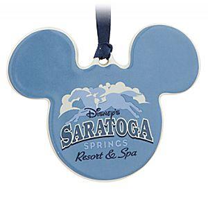 Mickey Mouse Icon Ornament - Disneys Saratoga Springs Resort & Spa