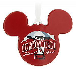 Mickey Mouse Icon Ornament - Disneys Hilton Head Island Resort