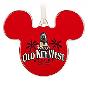 Mickey Mouse Icon Ornament - Disneys Old Key West Resort