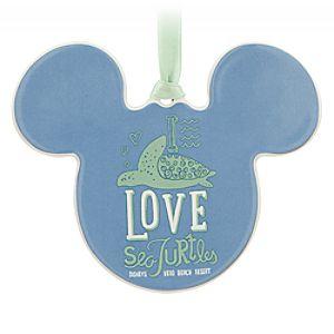 Mickey Mouse Icon Ornament - Disneys Vero Beach Resort