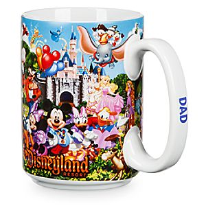Disneyland Storybook Mug for Dad