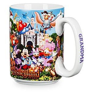 Disneyland Storybook Mug for Grandma