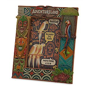 Enchanted Tiki Room Photo Frame - Adventureland - 4 x 6