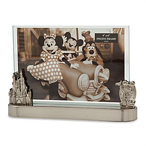 Mickey Mouse and Fantasyland Castle Contemporary Photo Frame - 4 x 6