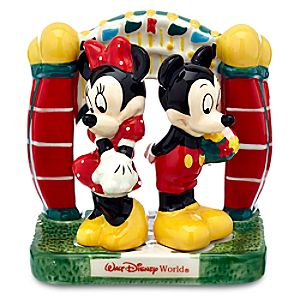Mickey and Minnie Mouse Salt and Pepper Shaker Set - Walt Disney World