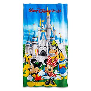 Mickey Mouse and Friends Beach Towel - Walt Disney World