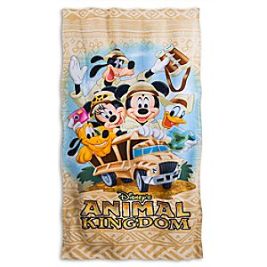 Disneys Animal Kingdom Beach Towel