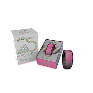 Disney Vacation Club 25th Anniversary Disney Parks MagicBand - Pink - Limited Edition