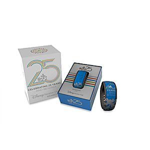 Disney Vacation Club 25th Anniversary Disney Parks MagicBand - Blue - Limited Edition